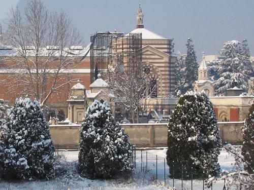 雪のミラノ
